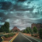 Approaching Bell Rock SR179 Sedona